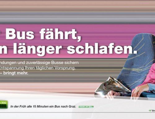 Wer mit dem Bus fährt: Verkehrsressort Steiermark