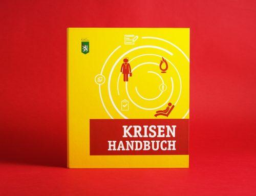 Keine Panik: KAGes Krisenhandbuch & Folder
