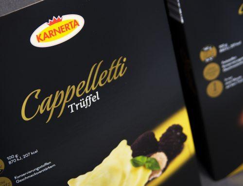 Karnerta wirft sich in Schale: Premium Pasta