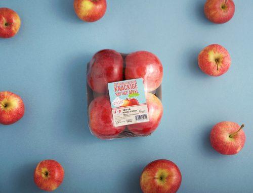 Frisch verpackt is': Obst und Gemüse – Packaging für Hofer