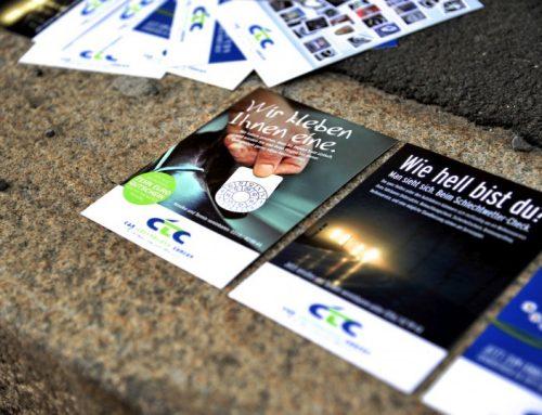 Werbung fürs Schraubwerk: CTC Graz
