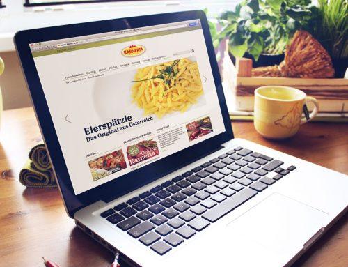 Nicht nur für Fleischtiger: Die neue Karnerta Webseite