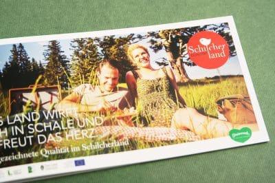 Schilcherland Qualität Broschüre von Agentur Kufferath Graz