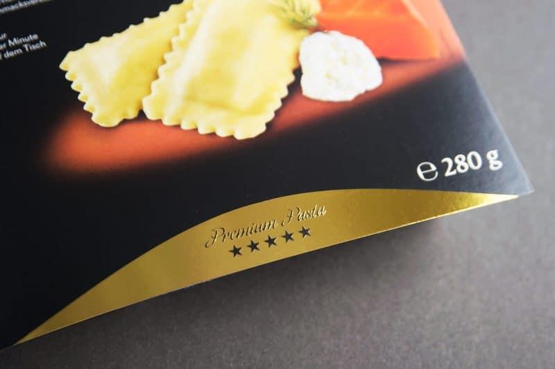 Karnerta Premium Pasta Verpackung von Kufferath