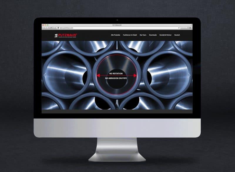 Website für Putzmaus Jäger Technik von Kufferath