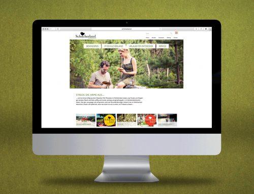 Alle beisammen: Neues Webdesign für die Region Schilcherland