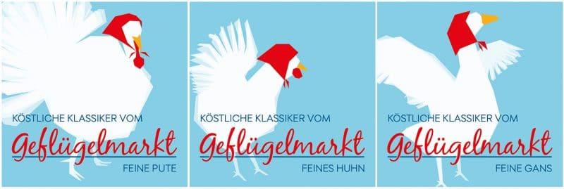 Kufferath Etikettendesign für Geflügelfleisch FW-Trading