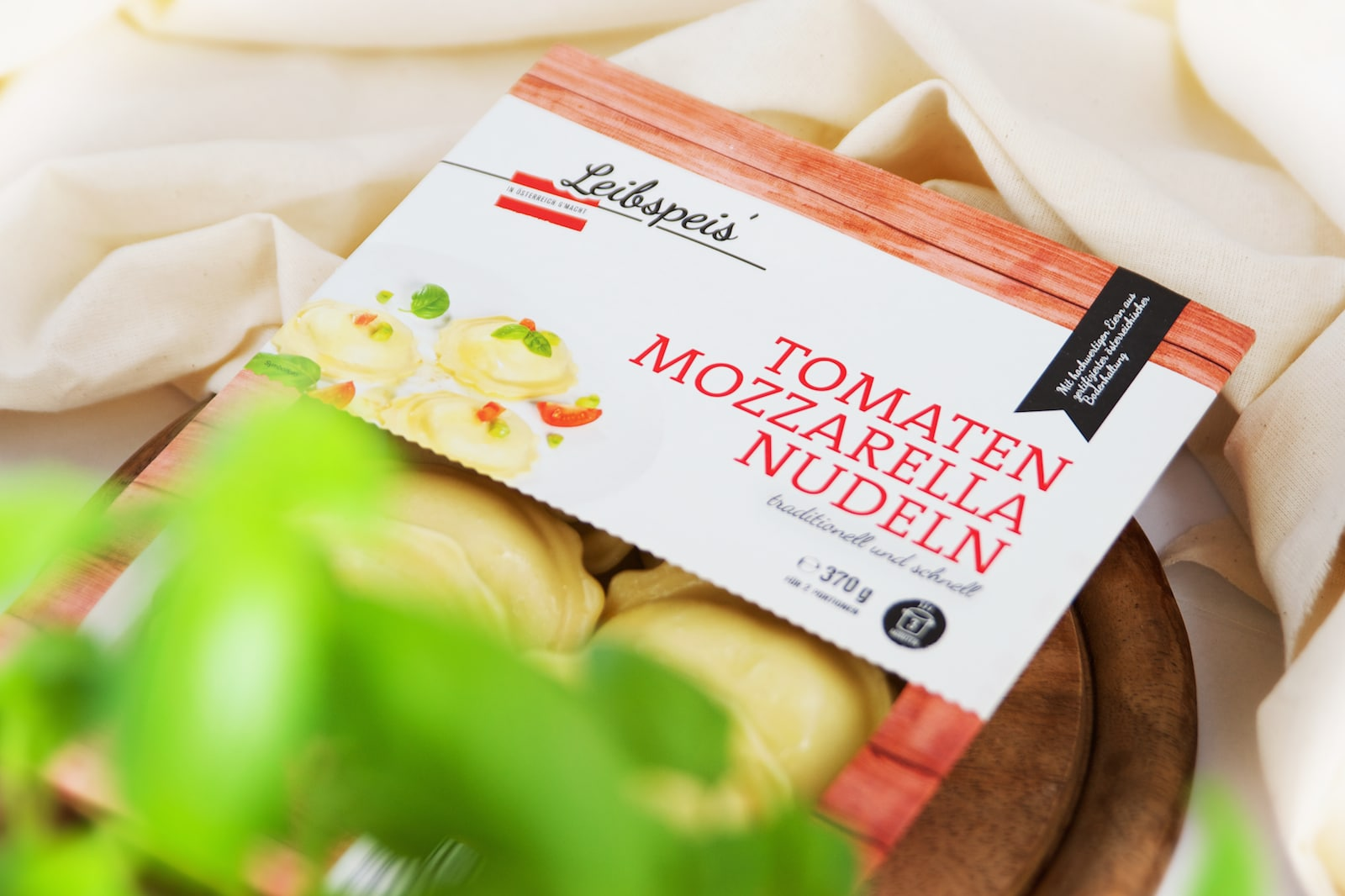 Karnerta Leibspeis Österreich Verpackung von Kufferath