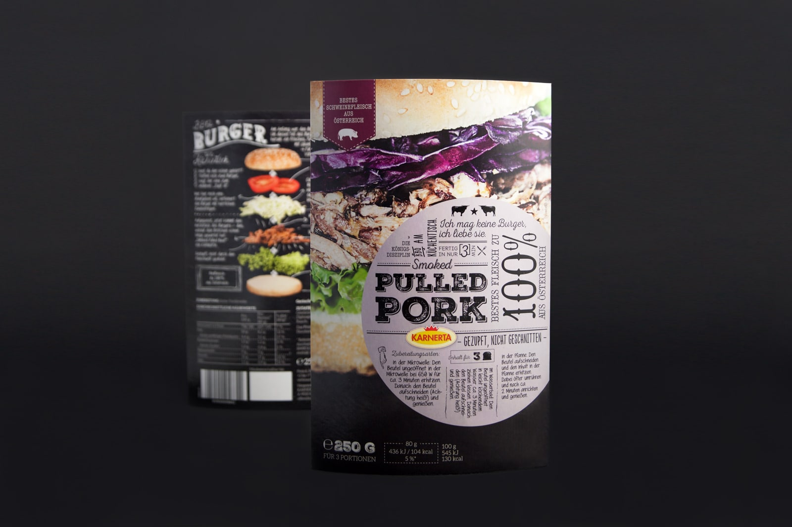 Karnerta Pulled Meat Verpackung Package Design 2015 KUFFERATH