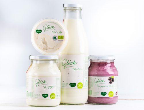 Zum Glück: Bio-Kuhmilch-Produkte der Weizer Schafbauern