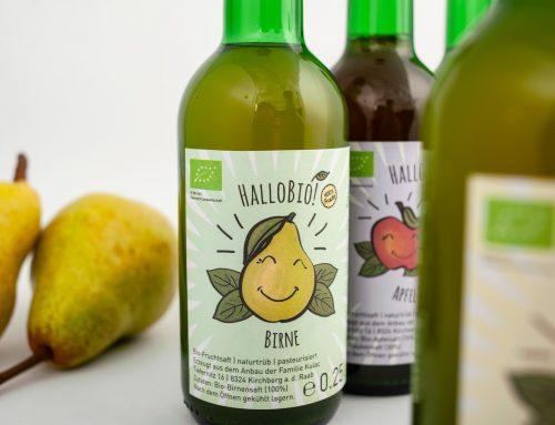 HalloBio! – oder: Hallo buntes Etikettendesign.