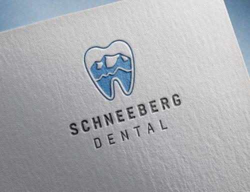 Hoch hinaus: Corporate Design für Schneeberg Dental