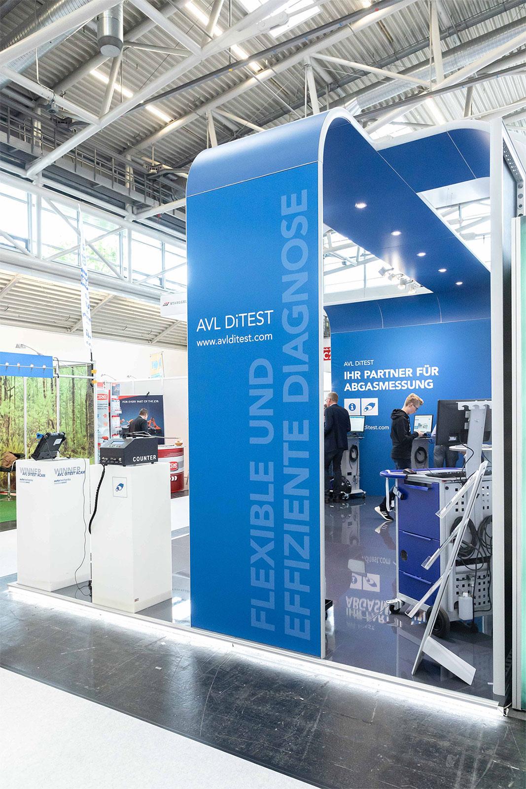 AVL DiTEST Messesystem 2019 Objekt München KUFFERATH