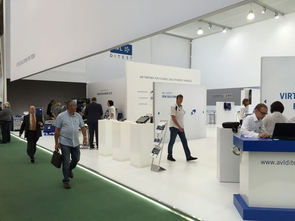 Messestand AVL DiTEST, Automechanika Frankfurt 2018