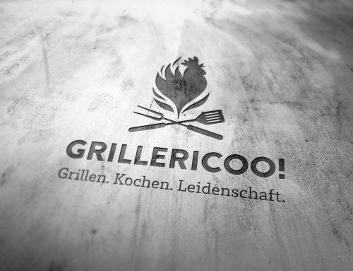 Grillen. Kochen. Smartes Design: Neues Branding für Grillericoo.