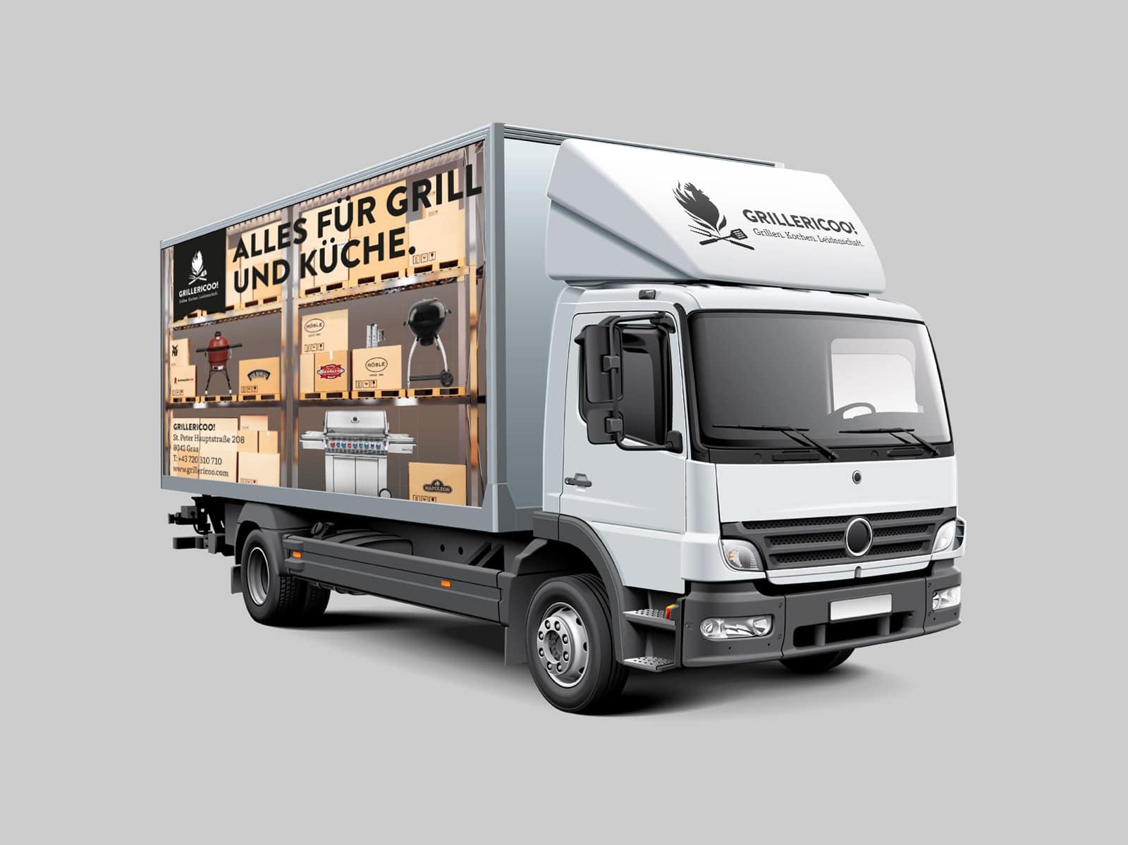 Grillericoo Transportwagen