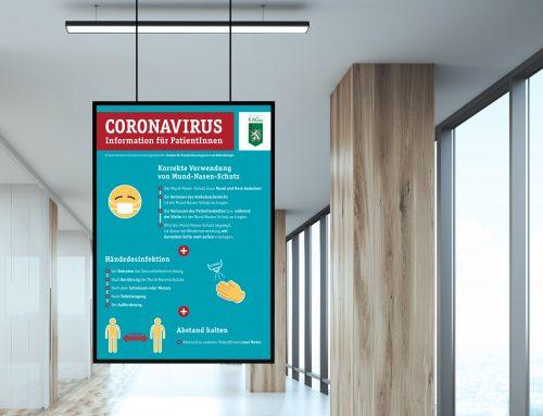 Neue Regeln: Coronavirus-Information in den Steirischen Spitälern